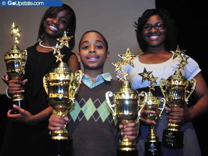 Kids Earn Awards After School Showcase 2014