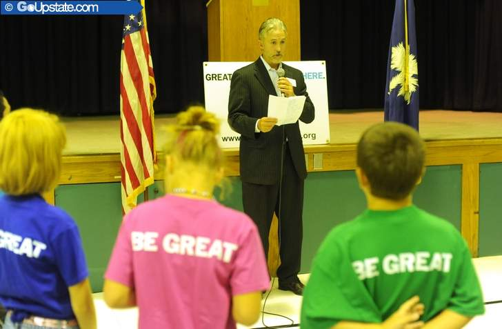 Cowpens Students Celebrate As Boys & Girls Club Opens